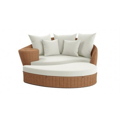 Barlow Tyrie Dune Daybed and Ottoman Cover  by Barlow Tyrie