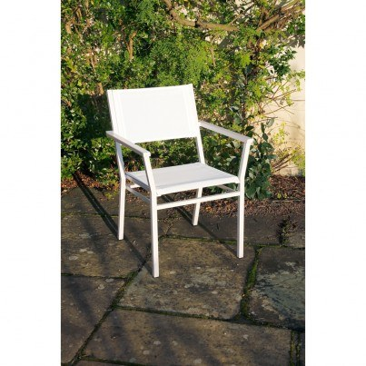 Barlow Tyrie Equinox Stainless Steel Armchair  by Barlow Tyrie