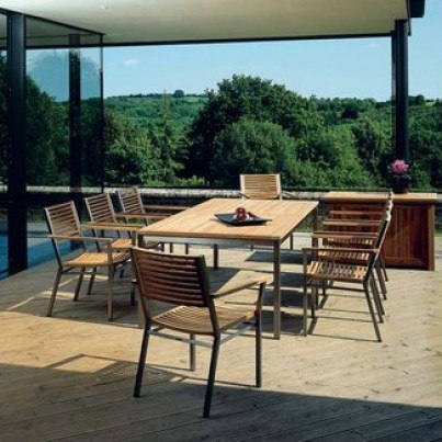 Equinox Teak Dining Collection