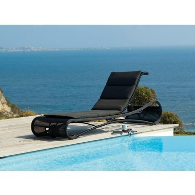 Cane-line Escape Chaise Lounge  by Cane-line