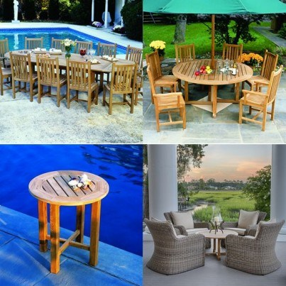 Kingsley Bate Classic and Essex Teak Seating and Dining Collection - Build Your Own Ensemble  by Kingsley Bate