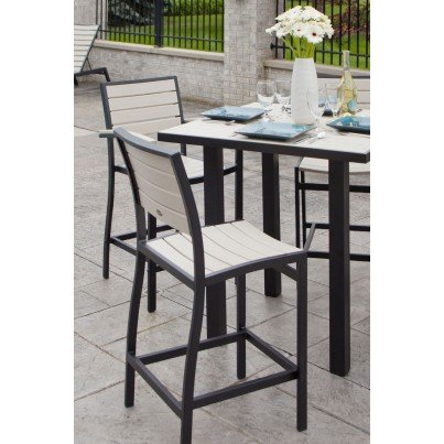 POLYWOOD® Euro Bar Side Chair  by Polywood