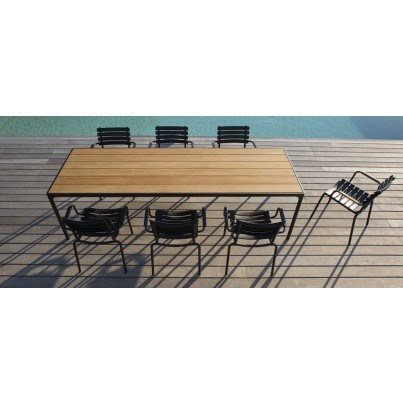 Houe FOUR Rectangular Table  by Houe