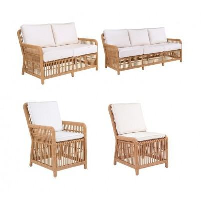 Kingsley Bate Havana Rattan Wicker Dining and Seating Collection - Build Your Own Ensemble  by Kingsley Bate