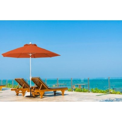 Luxe Shade™ Rico Octagonal 9' Market Patio Umbrella  by Luxe Shade™
