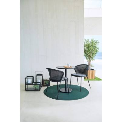 """Cane-line Infinity Round Rug 55""""  by Cane-line"""
