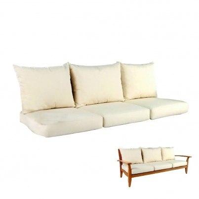 Kingsley Bate Ipanema Sofa Seat & Back Cushions  by Kingsley Bate