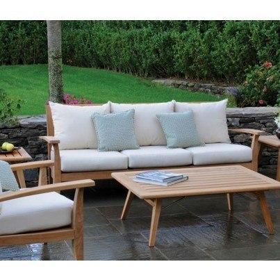 Kingsley Bate Ipanema Teak Deep Seating Sofa  by Kingsley Bate