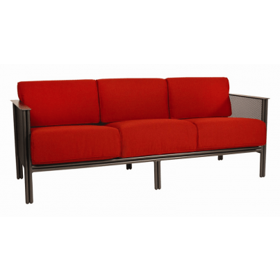 Woodard Jax Wrought Iron Sofa  by Woodard