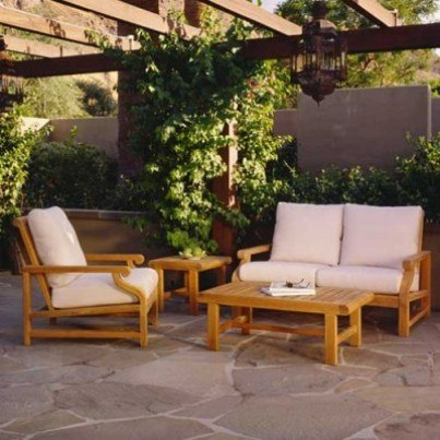Kingsley Bate Nantucket Teak Deep Seating Collection-Build Your Own Ensemble  by Kingsley Bate
