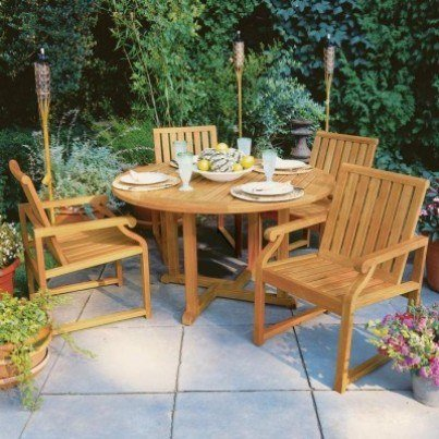 Nantucket Teak Dining Collection