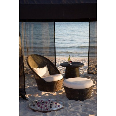 Cane-line Kingston Sunchair  by Cane-line