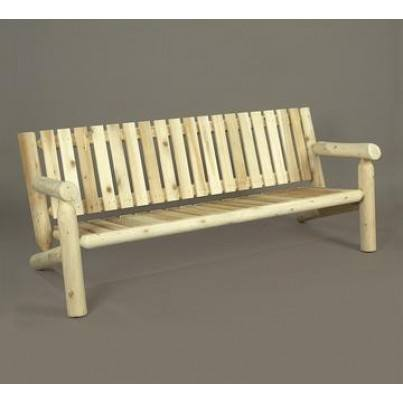 Rustic Natural Cedar 6' Settee  by Rustic Natural Cedar