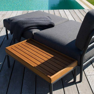 Houe Level Ottoman  by Houe