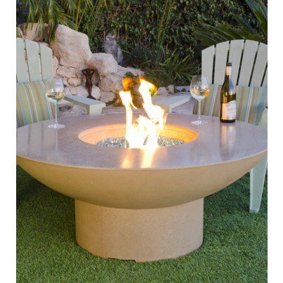 Lotus Chat Height Fire Pit Table  by CGProducts