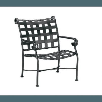Woodard Ramsgate Aluminum Club Chair  by Woodard