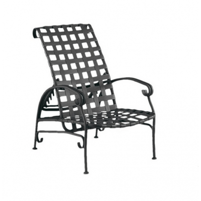 Woodard Ramsgate Aluminum Adjustable Lounge Chair  by Woodard