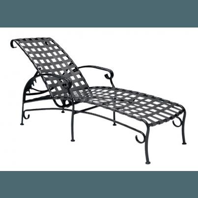 Woodard Ramsgate Aluminum Adjustable Chaise Lounge  by Woodard