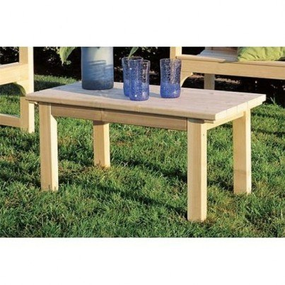 Rustic Natural Cedar English Garden Cedar Coffee Table  by Rustic Natural Cedar