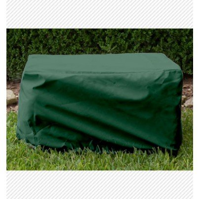 Ottoman/Small Table Cover - Forest Green  by Koveroos