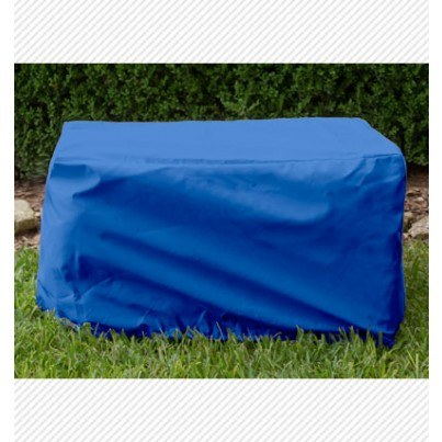 Ottoman/Small Table Cover - Pacific Blue  by Koveroos