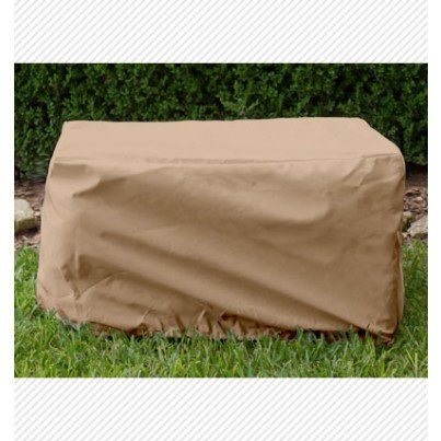 Ottoman/Small Table Cover - Toast  by Koveroos