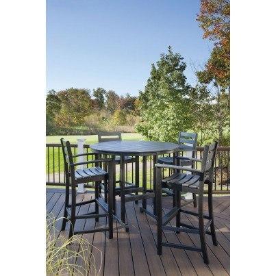 """Trex® Outdoor Furniture™ Monterey Bay Round 48"""" Bar Table  by Trex Outdoor Furniture"""
