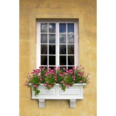 Nantucket Window Box 3FT White