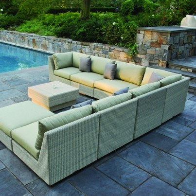 Kingsley Bate Westport Wicker Seating  Collection - Build Your Own Ensemble  by Kingsley Bate