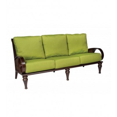 Woodard North Shore Wicker Sofa  by Woodard