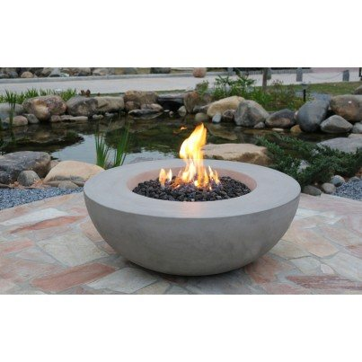 Lunar Firebowl Fire Pit  by Frontera Furniture Company