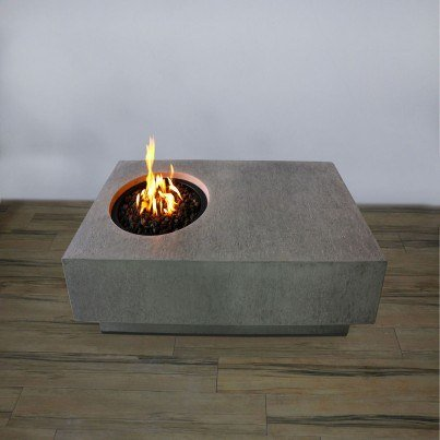 Metroplis Fire Pit Table  by Frontera Furniture Company