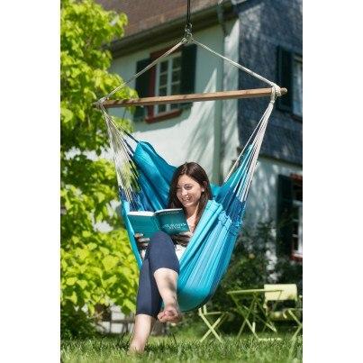 La Siesta Orquidea Basic Hammock Chair - Lagoon  by La Siesta
