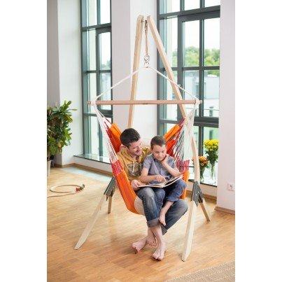 La Siesta Orquidea Basic Hammock Chair - Volcano  by La Siesta