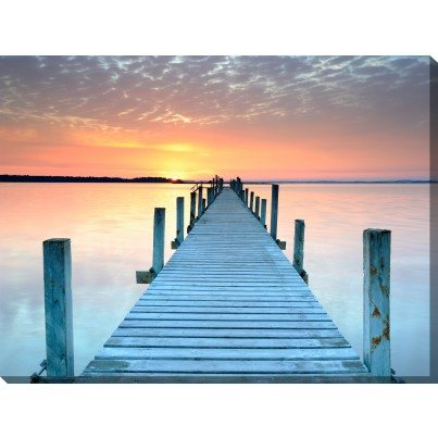 West of the Wind Outdoor Canvas Wall Art - Infinity  by West of the Wind