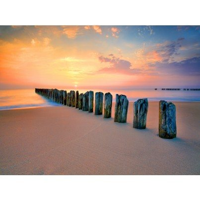 West of the Wind Outdoor Canvas Wall Art - Silent Sea  by West of the Wind