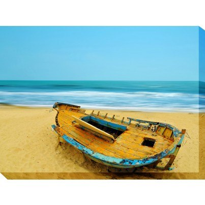 West of the Wind Outdoor Canvas Wall Art - Deserted  by West of the Wind