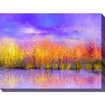 West of the Wind Outdoor Canvas Wall Art - Sensation  by West of the Wind