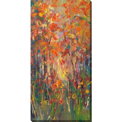West of the Wind Outdoor Canvas Wall Art - The Choir  by West of the Wind