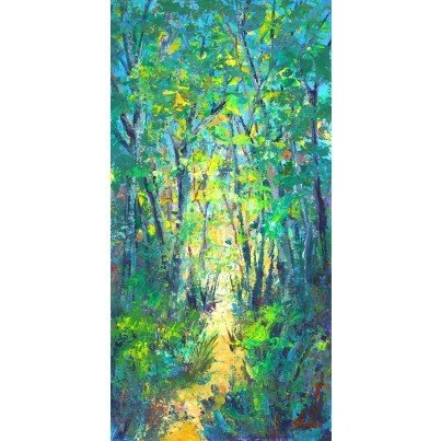 West of the Wind Outdoor Canvas Wall Art - Summer Saunter  by West of the Wind