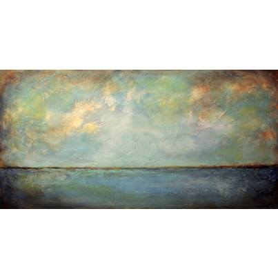 West of the Wind Outdoor Canvas Wall Art - Blue Day  by West of the Wind