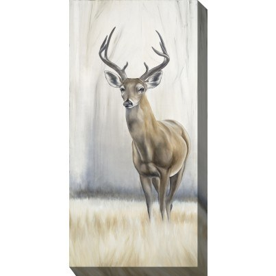 West of the Wind Outdoor Canvas Wall Art - 8 Point Deer  by West of the Wind