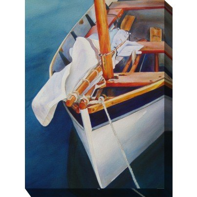 West of the Wind Outdoor Canvas Wall Art - Sail Away  by West of the Wind