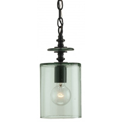 Currey & Company Panorama Glass Pendant Light Chandelier  by Currey & Company