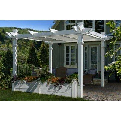 Pergola Garden Bed 12'  by Frontera Furniture Company