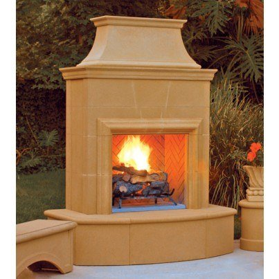 Petite Cordova Fireplace  by CGProducts