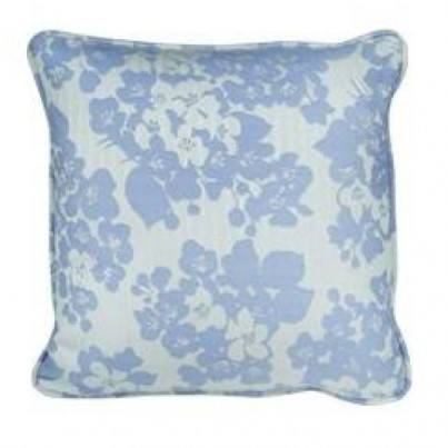 "18"" Square Toss Pillow Shown in Hibiscus"