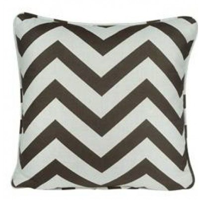 "20"" Toss Pillow Shown in Chevron"