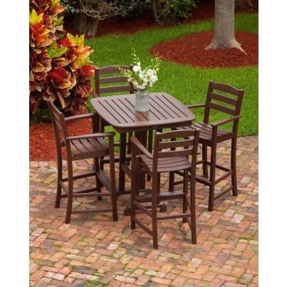 POLYWOOD® La Casa Cafe Bar Arm Chair  by Polywood
