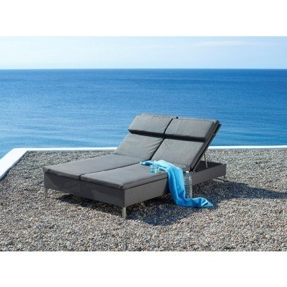 Cane-line Rest Double Sunbed  by Cane-line